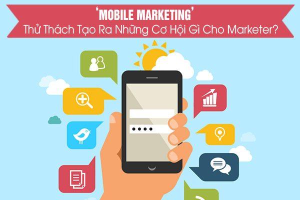 tích hợp mạng xã hội mobile và marketing