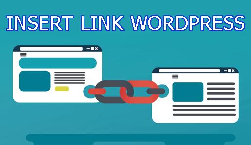 Chèn liên kết trong wordpress